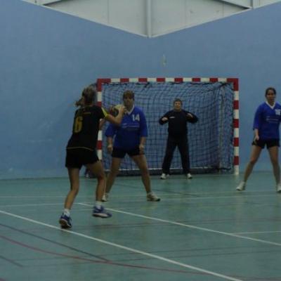 Premier match des seniors filles